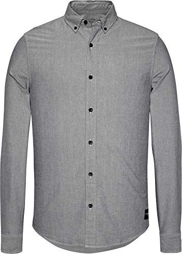 Calvin Klein Jeans Herren Night Sky T-Shirt, blau, XXL