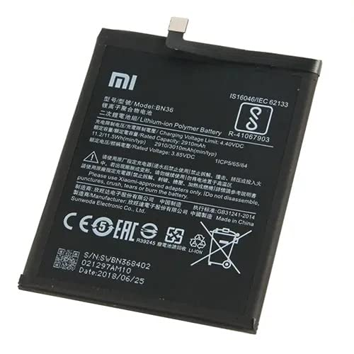 Bateria Para MI A2 / MIA2 / MI6X / MI 6X Modelo BN36