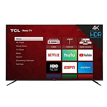 TCL 75S425 75 Inch 4K UHD Smart Roku TV (2019)