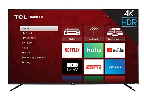 TCL 75S425 75 Inch 4K UHD HDR Smart Roku TV (2019)