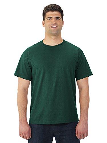 Jerzees Adult Heavyweight T-Shirt, Forest Green, Large
