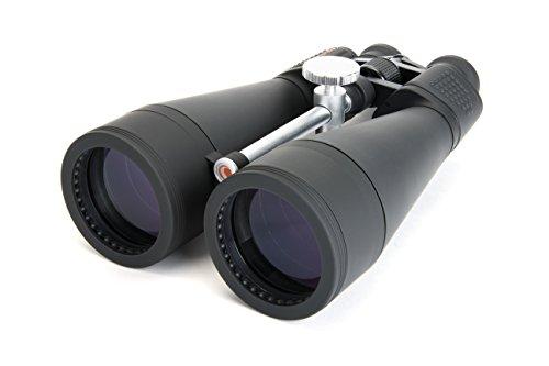 Celestron SkyMaster 20x80 Fernglas mit 20x Vergrößerung und 80mm Objektivdurchmesser - Großfernglas mit Trageriemen und Tasche, inkl. Stativadapter, für Naturbeobachtung und Astronomie