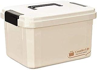 THMSS Household Medicine Box Multi-layer Drug Storage Box Portable First Aid Kit Medical Box Medicine Box (Color : Beige, Size : D)
