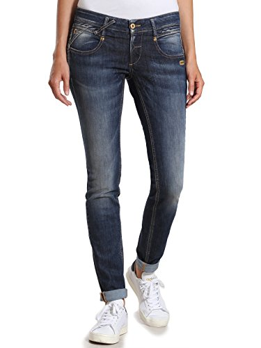 Gang Damen NENA - meridien Denim Skinny Jeans, Blau (NO Square Wash 7736), W28/L32