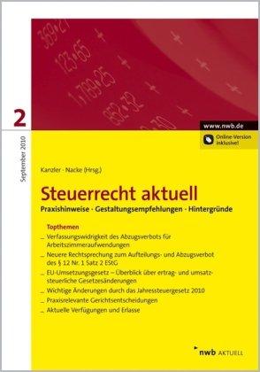 NWB Steuerrecht aktuell: Steuerrecht aktuell 2/2010