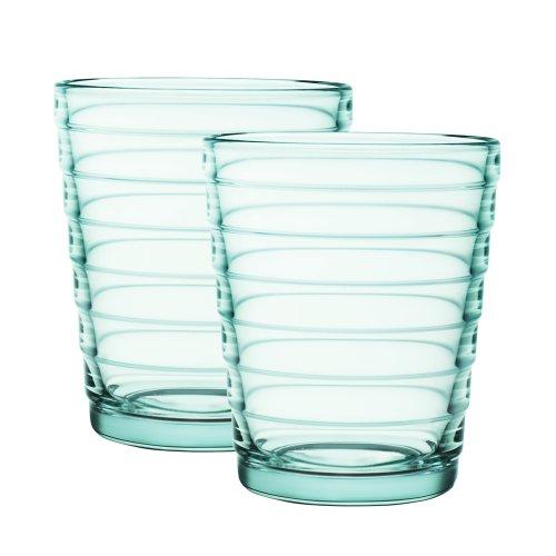 2-TLG. Gläser Set Aino Aalto 22cl Farbe: Wassergrün