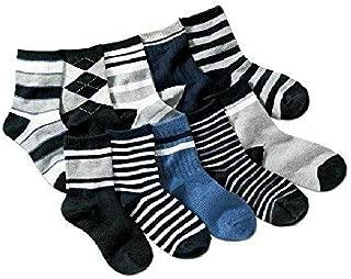 Colourful Baby World Set regalo di 6 paia di calzini alla caviglia per neonato antiscivolo in cotone spesso