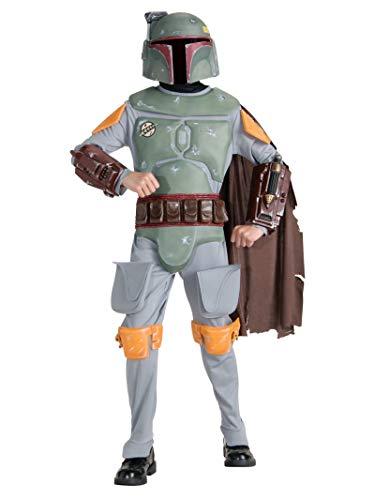 Rubies Costume Enfant Boba Fett Star Wars Taille : 6/8 Ans (114 à 126 cm)