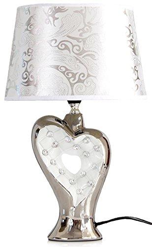 Lampe elegant edel Tischleuchte Tischlampe Nachtlichter Relief stilvoll !.