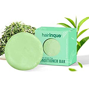 2pcs Solid Conditioner Bar For All Hair Types, GreenTea Travel Hair Conditioner – Moisturizing Nourishing Conditioner…