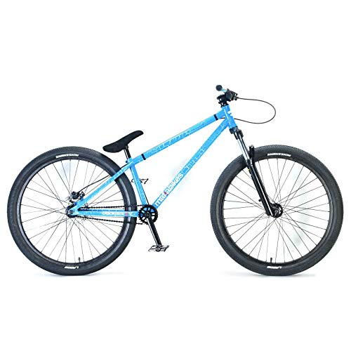 "Big Save! Mafiabikes Blackjack D 26"" BMX Jump Bike Wheelie Bike Blue Crackle"