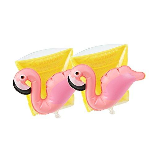 VORCOOL Schwimmflügel Aufblasbare Schwimmhilfe Flamingo Figur Schwimmreifen Schwimmscheiben Kinder Baby