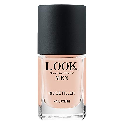 Look to go Ridge Filler Men 12ml I Rillenfüllender Nagellack für die natürliche Maniküre I vegan & 13-free I Made in Germany