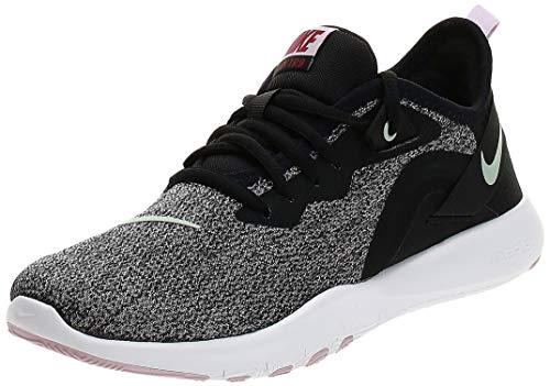 Nike Damen Flex Trainer 9 Laufschuh, Black Pistachio Frost Ice Lilac White, 41 EU
