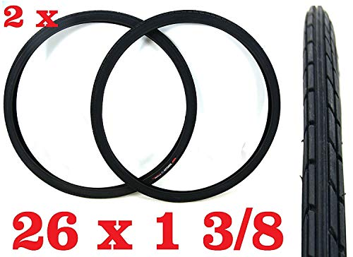 Oferta - 2X Neumático para Bicicleta Tamaño 26 X 1 3/8