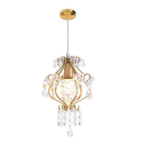 Dellemade 1- Leuchtet Kristall kronleuchter Modern Deckenleuchte Für Treppenhaus, Bar, Küche, Esszimmer, Kinderzimmer