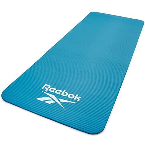 Reebok Training Mat, Tappetino da Allenamento, Unisex Adulto, Blu, 7 mm