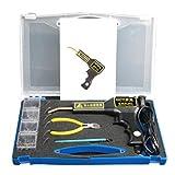 AYYDS Soldadora de plástico con clavos de soldadura para reparación de grapadora caliente, kit de herramientas de soldadura