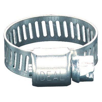 """Price comparison product image Ideal 62P Series 201 / 301 Stainless Steel Small Diameter Clamp,  5 / 16"""" Width,  1-3 / 4"""" - 2-3 / 4"""" Diameter,  Box of 10"""