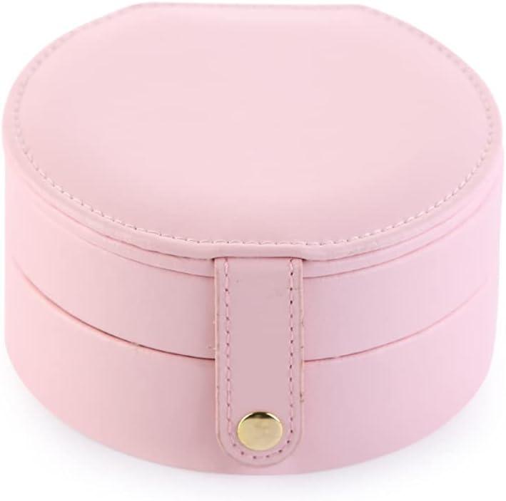 Double-Layer Creative pu Jewelry Box Max 76% OFF Jewelr Portable Mini Travel At the price
