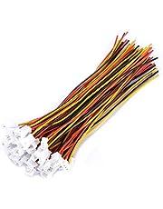 JST 1,25 mm 2-pins/3-pins micro mannelijke vrouwelijke connector plug verlengkabel met 100 mm kabel, 20st(3 Speld)