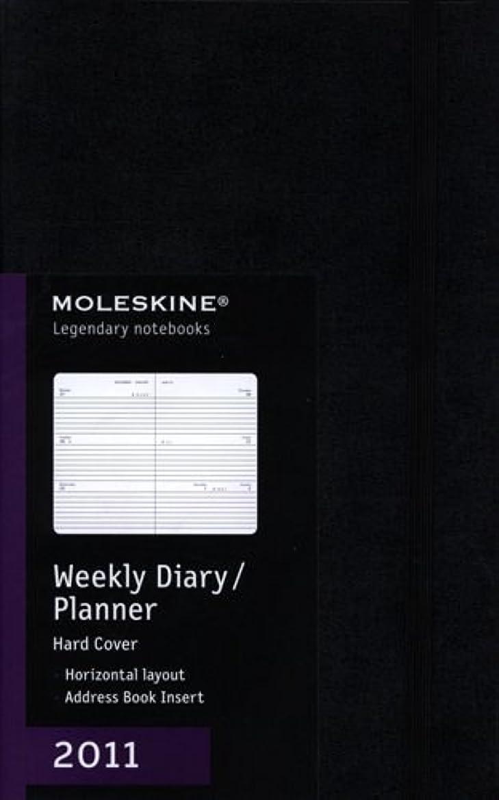 つなぐスペクトラムカタログMoleskine 2011 12 Month Weekly Planner Horizontal Black Hard Cover Large (Moleskine Diaries)