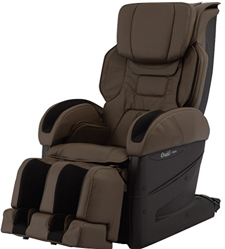 Osaki OS4DPROJPPREMIUMB Model OS-4D Pro JP Premium Massage Chair in Brown, Kiwami Mecha 4D Kneading Ball System, 29 Different Types of Kneaking Technique, 3 Air Options, Natural Fit Function