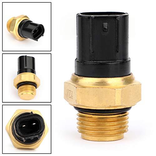 Artudatech Interruptor de ventilador de radiador de agua con sensor de temperatura para GSXR 600 750 750X 1000 1300 TL1000S TL1000R VL800