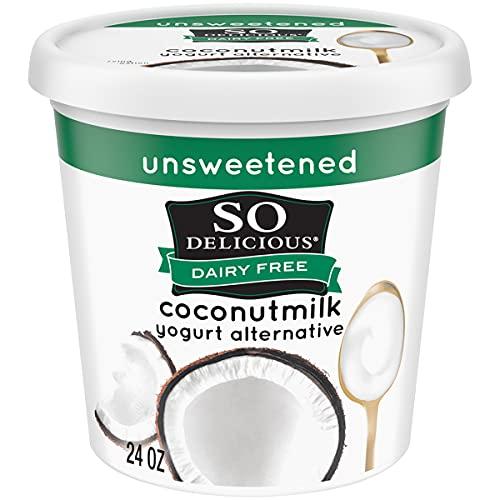 So Delicious Dairy Free Coconut Milk Yogurt Alternative, Unsweetened,...