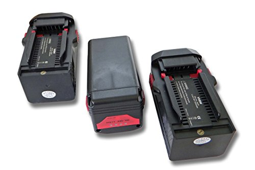 vhbw 3x Batería Li-Ion 3000mAh (36V) para herramientas Hilti TE 6-A36 AVR y Hilti B36, B36V.