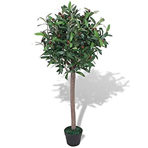 Artificial Banana Tree Plant with Pot 59″ Green