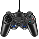 Best Pc Game Controllers - USB Wired Gaming Controller, EIFFTER PC Game Controller Review