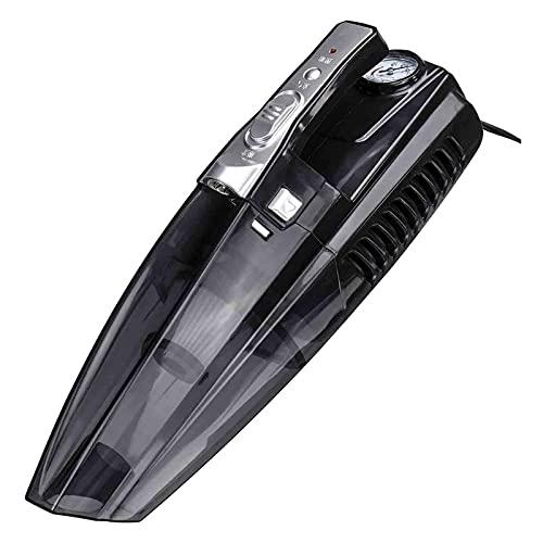 showyow Aspiradora, Aspiradora de Mano de 100 W, Succión Dura de 4000 Pa, 31000 RPM, Pantalla Digital de Velocidad de Alturas, para el hogar y el automóvil