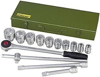 """Proxxon 23300 zestaw kluczy nasadowych 22-50 mm napęd 20 mm (3/4"""") 15-częściowy w stalowym pudełku"""