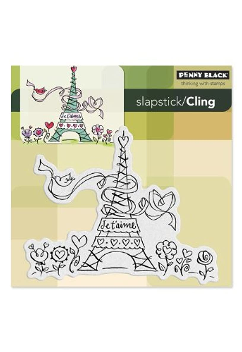 Penny Black 40-185 Cling Rubber Stamp, Love Paris