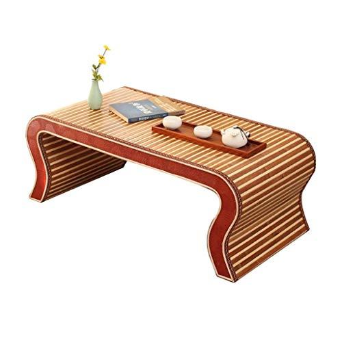 Tables basses Meubles en Bois Massif for la Maison Table d'ordinateur de lit Petite Table d'école Maternelle, Poids de Charge élevé S Jambes Tables (Color : Brown, Size : 38 * 50 * 80cm)