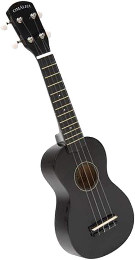 Popular Bargain sale product Omalha 4-String Ukulele Black EMFBK