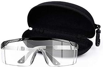 Safety Glasses Over Glasses Goggles, Anti Fog Splash Shooting Glasses, Scratch UV Resistant Safety Glasses, Eye Protection...