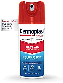 Best Dermoplast First Aid Spray, 2.75 Ounce Can, Antiseptic & Anesthetic (Packaging May Vary) Review