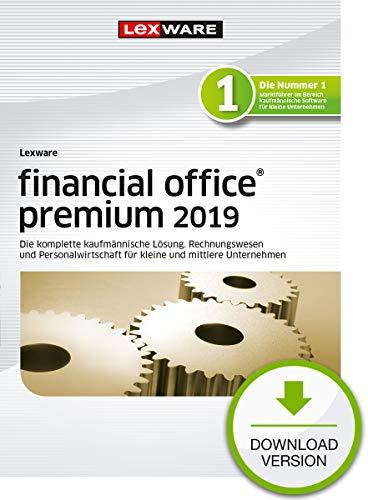Lexware financial office 2019 premium-Version Download (Jahreslizenz)|Einfache kaufmännische Komplett-Lösung für Freiberufler, kleine & mittlere Unternehmen|Kompatibel mit Windows 7 oder aktueller