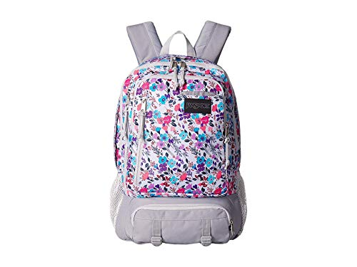 JanSport Envoy Laptop Backpack Petal To The Metal Print One Size