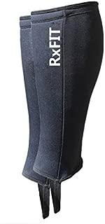 RxFIT 5mm Neoprene Crossfit Shin Skin Weightlifting Shin Protector (Single $20, Pair $27)