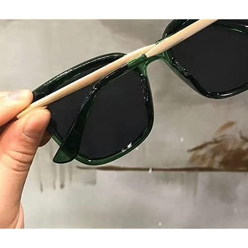 gafas femeninas celebridades con el mismo párrafo cuadrado gafas de sol espejo plano gafas de sol hombres y mujeres cara redonda de la moda de las gafas de sol