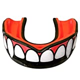 Oral Mart Vampire Fangs Youth Mouthguard for Kids - Youth Mouthguard for Karate, Flag Football, Martial Arts, Taekwondo, Boxing, Football, Rugby, BJJ, Muay Thai, Soccer, Hockey (with Free Case)