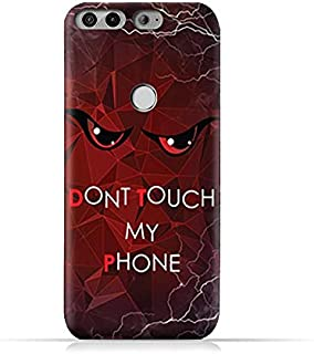 AMC Design Infinix Zero 5 X603 TPU Silicone Protective Case with Don't Touch My Phone 3 Design