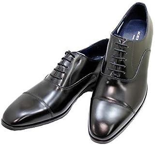 [ケンフォード] ストレートチップKN72 AC5 黒色(ブラック) 3E ビジネスシューズ 幅広 メンズ 本革(レザー)
