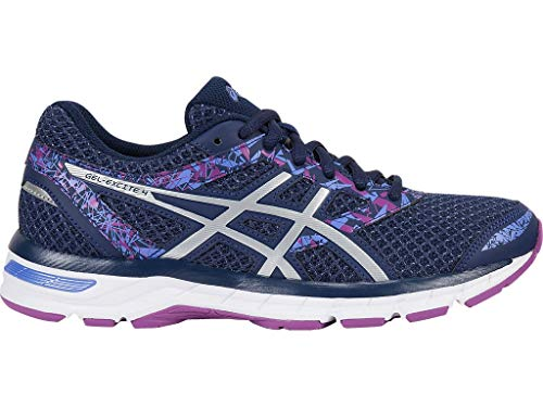 Asics Damen Gel-Excite 4 (D) Schuhe, 40.5 C/D EU, Indigo Blue/Indigo Blue/Orchid