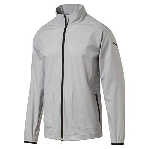 Puma Golf Men's 2019 Zephyr Jacket, Quarry, Large