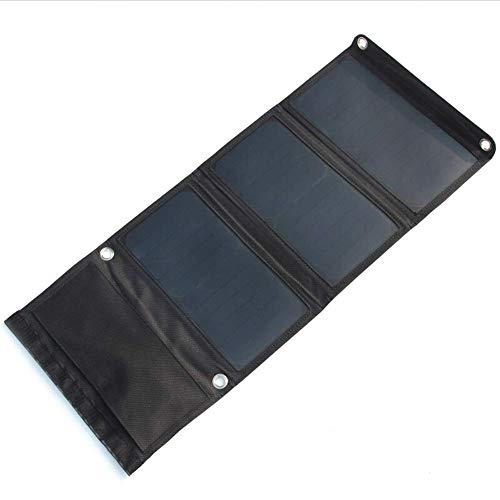 Isunday 21W 5V Opvouwbaar zonnepaneel Draagbare oplader op zonne-energie hoog efficiënte oplader voor mobiele telefoon