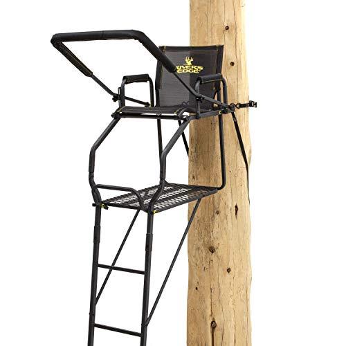 Rivers Edge RE656, Retreat 1-Man Ladder Stand, Black